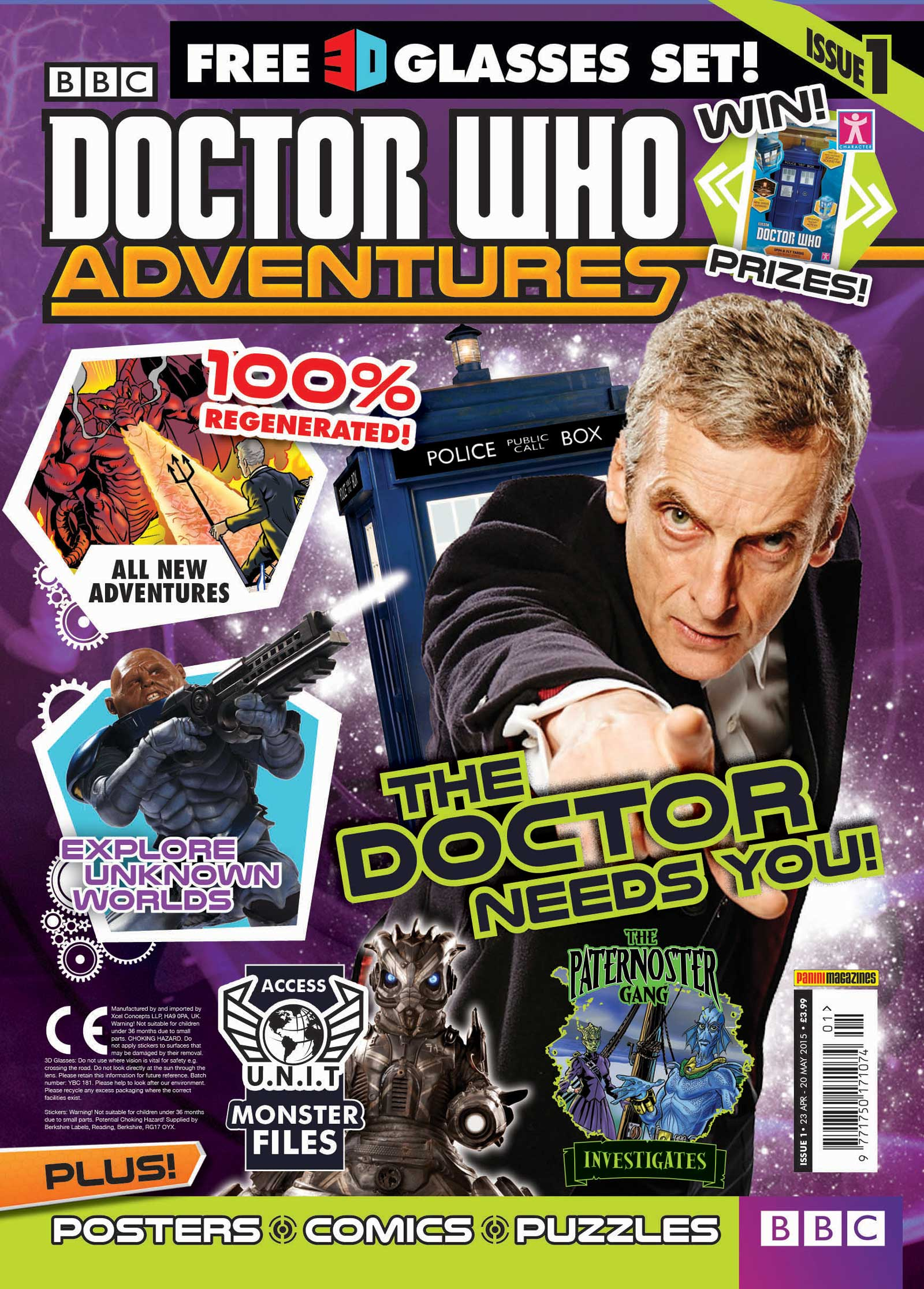 Doctor Who Adventures (Panini) Issue 1