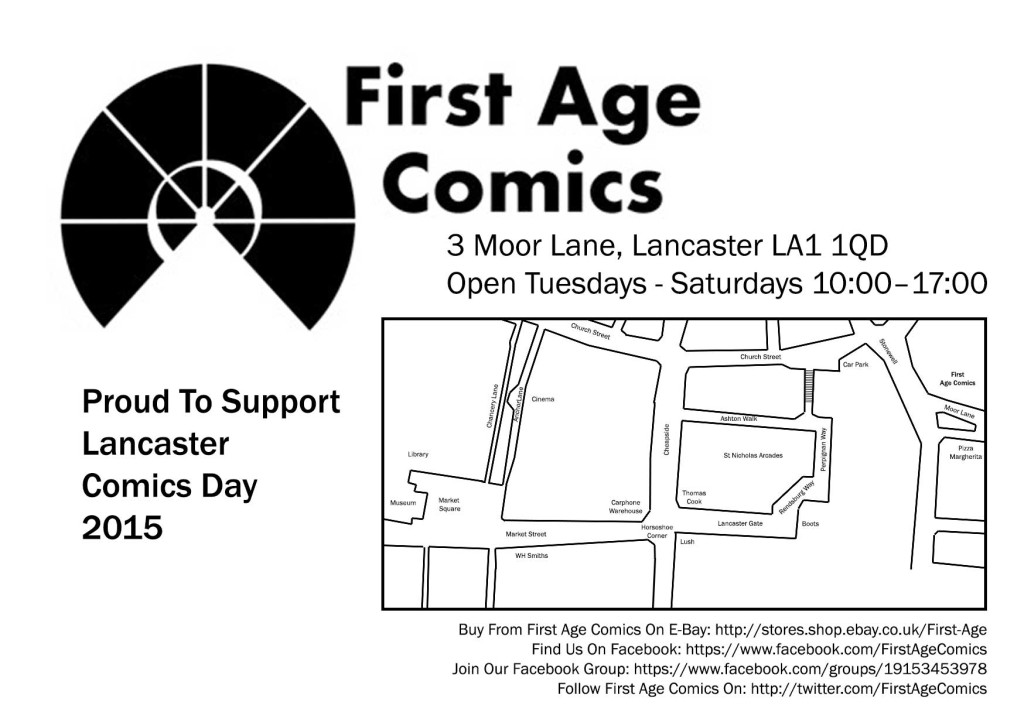 First Age Comics Map