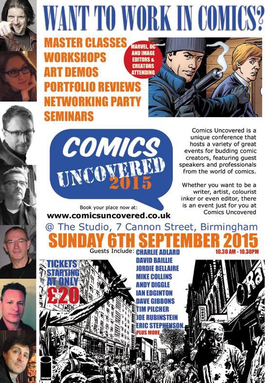 Comics Uncovered 2015