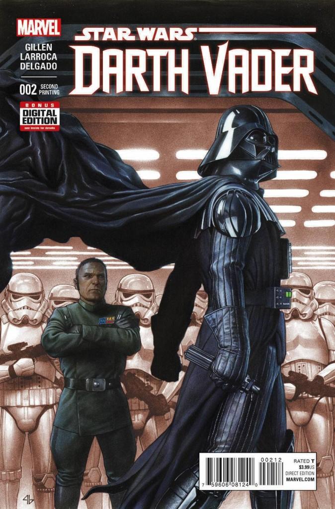 Darth Vader #2 Granov - Second Printing Variant