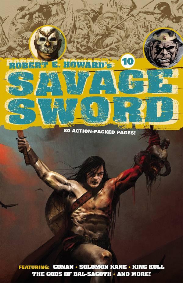 Robert E Howard's Savage Sword #10