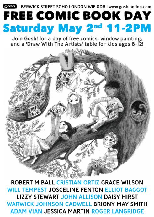 Free Comic Book Day 2015 - GOSH London