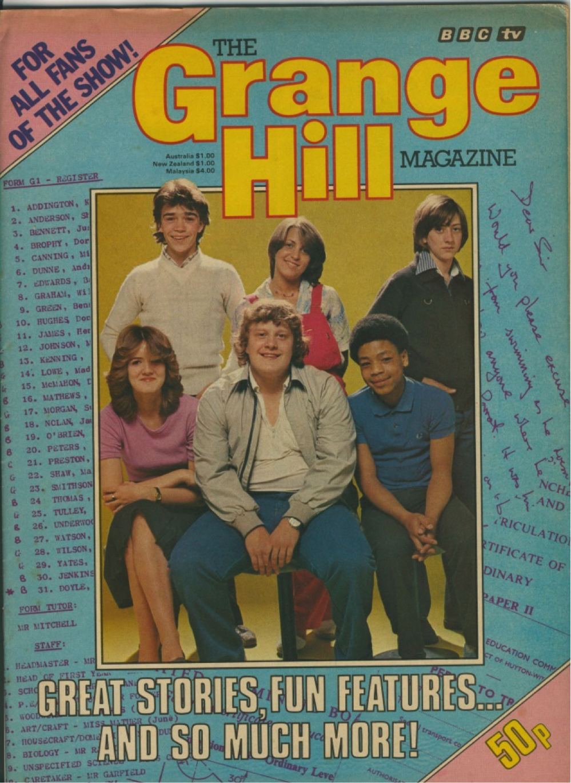 Grange Hil Magazine Issue 1 - Cover