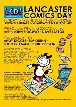 Lancaster Comics Day 2015