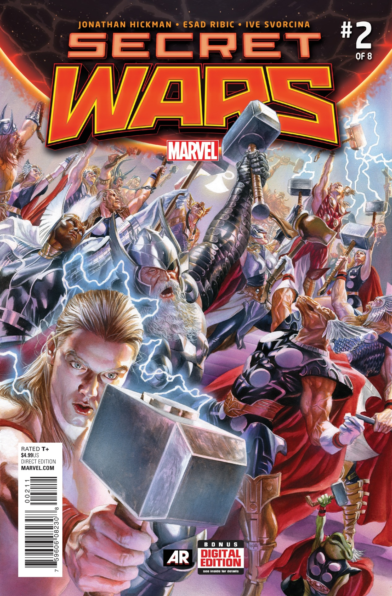 Secret Wars #2 - 2015