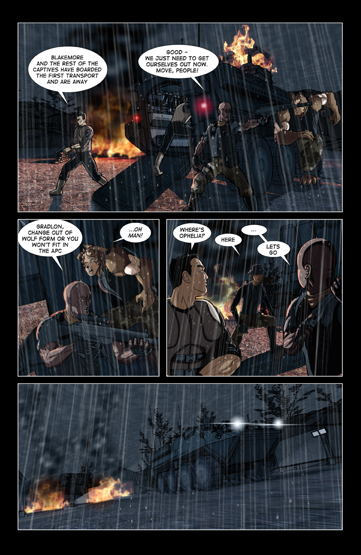 Vanguard Comic #2 Page 18