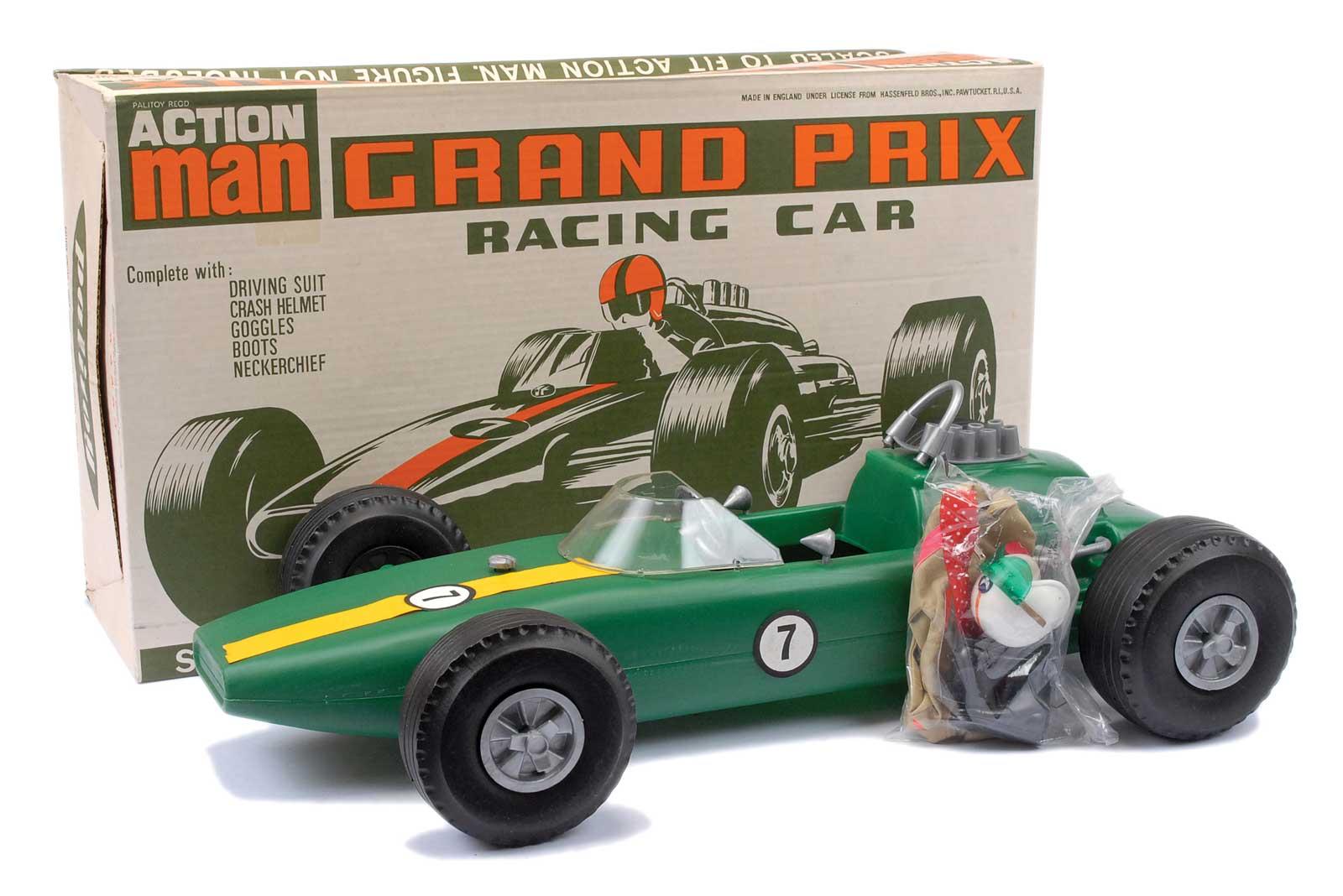 Action man Grand Prix Car