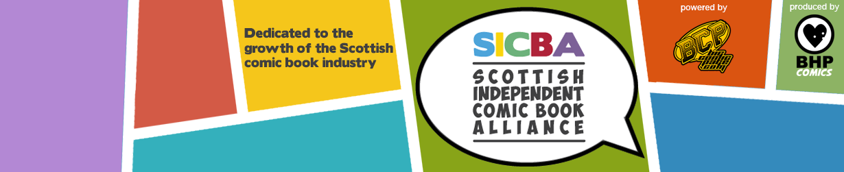 Scottish Independent Comic Book Alliance - SICBA Logo