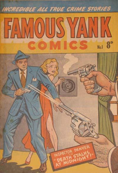 Famous Yank Comics Number 1