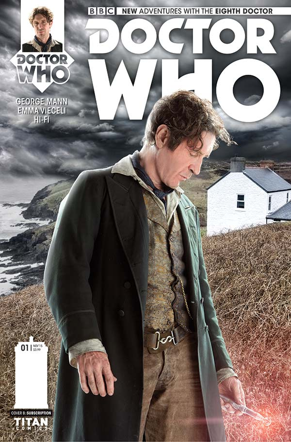 Doctor Who: The Eighth Doctor #1 Cover B - Photo Cover