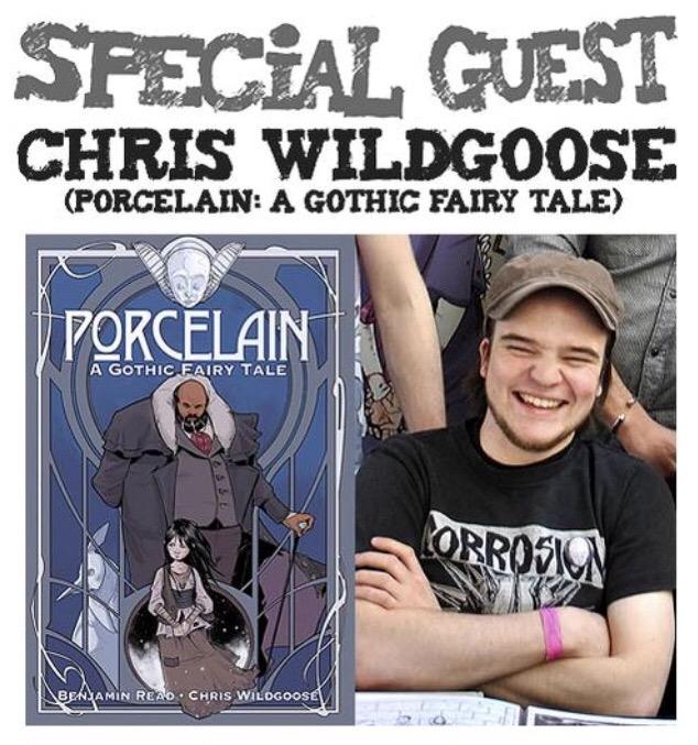 Awesome Comics Podcast Promo - Episode 4: Christian Wildgoose
