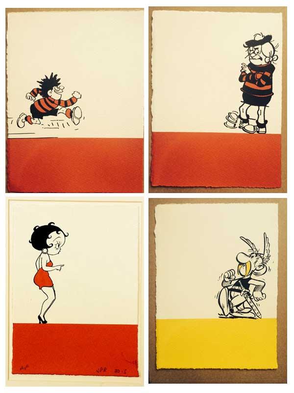 Colour Block Prints by John Patrick Reynolds