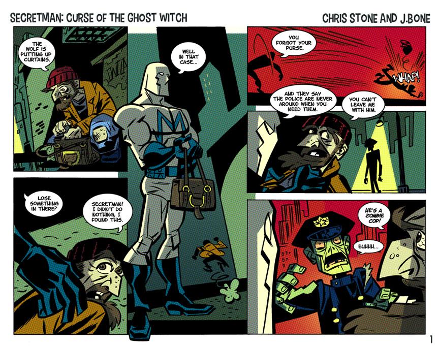 Secretman by Stone & Bone