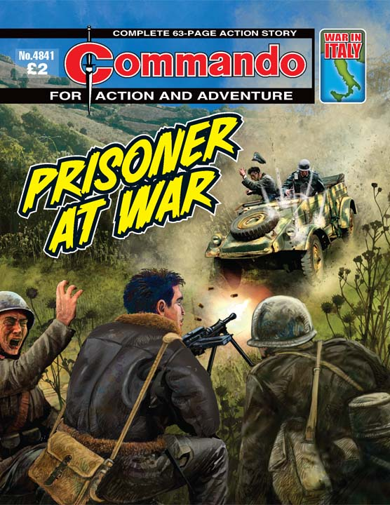 Commando No 4841 – Prisoner At War