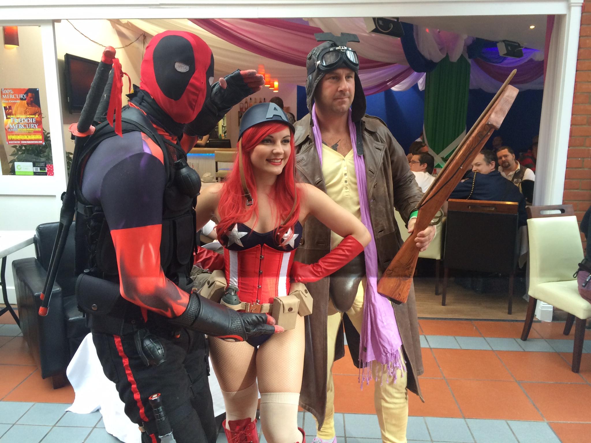 Cosplayers enjoying their day at DemonCon X. Photo: Tony Esmond