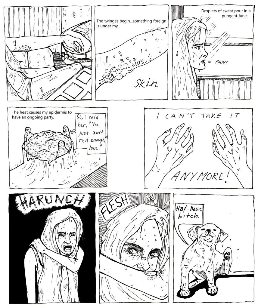 "Dirty Rotten Comics Volume 5 - ""Rash"" by Olivia Sullivan"