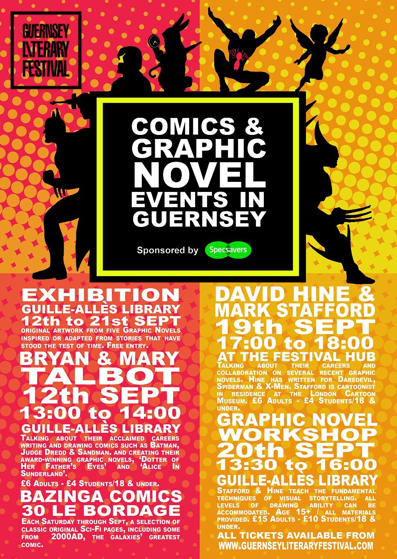 Guernsey Literature Festival 2015 Poster