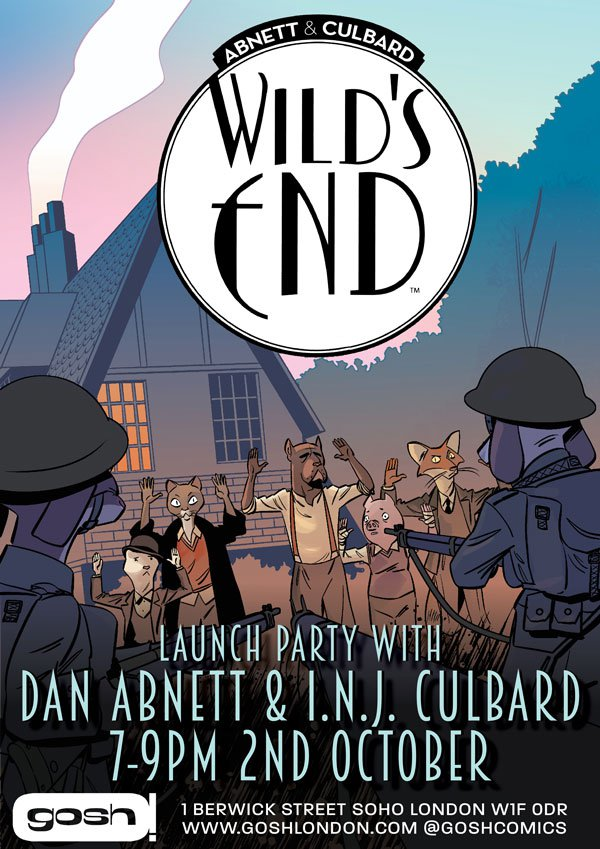 Wild's End Launch Party at GOSH