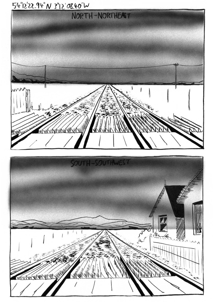 Art from The Homesick Truant's Cumbrian Yarn by Oliver East