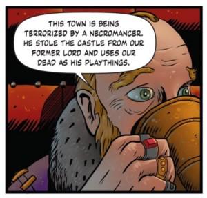 Killing Moon Issue 1 - The Mayor