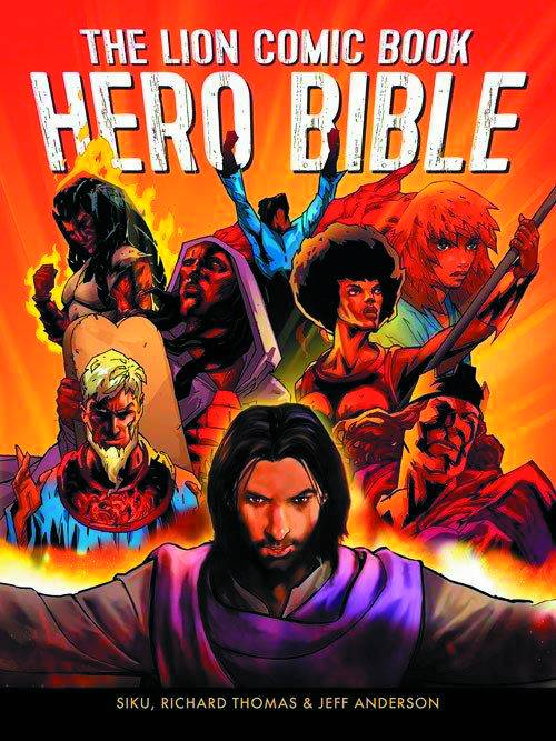 Lion Comic Book Hero Bible