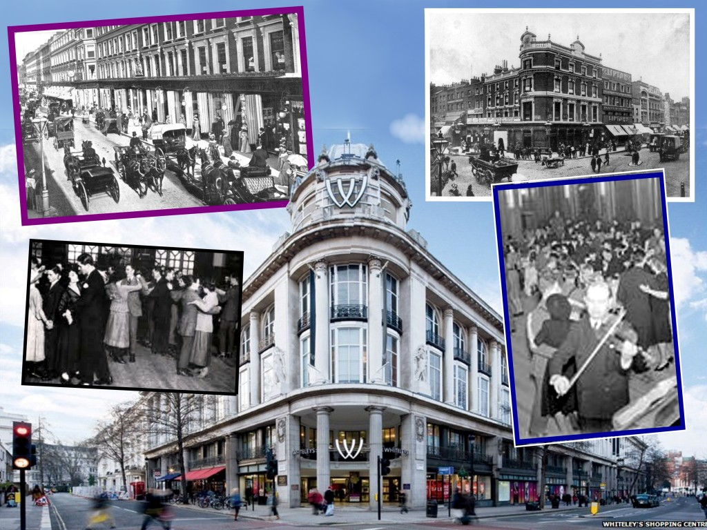 Islington in early 1900s, Whiteleys and Tea Bands