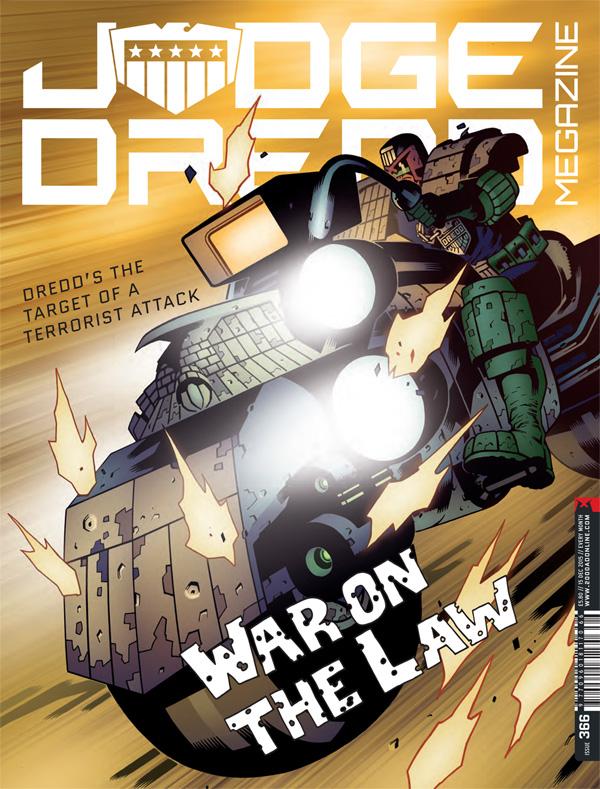Judge Dred Megazine Issue 366