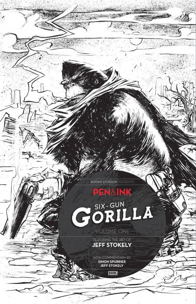 Six Gun Gorilla Pen Ink #1