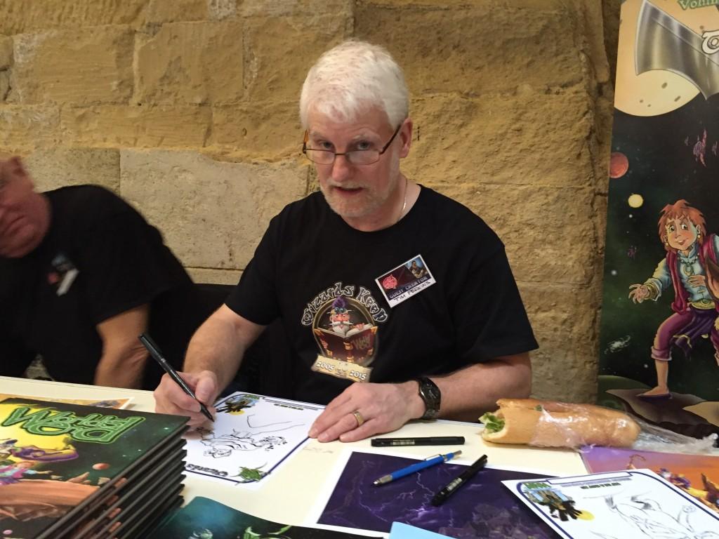 Malta Comic Con 2015: Tim Perkins
