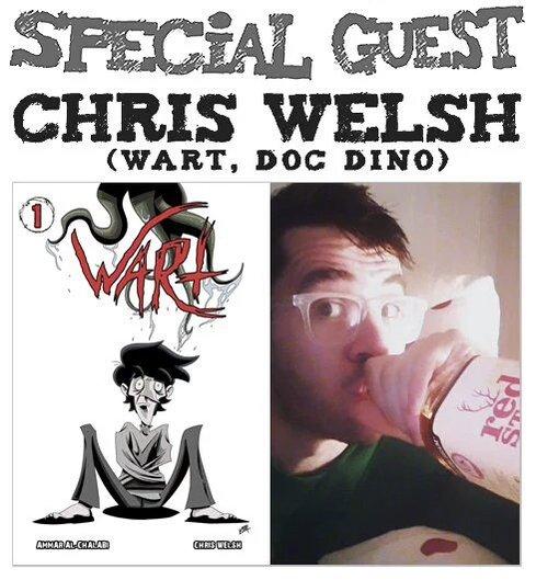 Amazing Comics Podcast Episode 28: Chris-Welsh