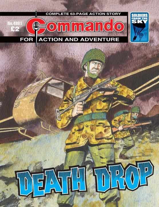 Commando No 4881 – Death Drop