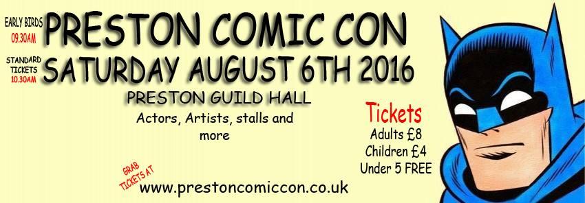 Preston Comic Con 2016