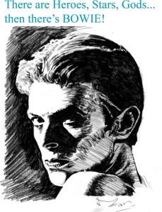 David Bowie by Rob Moran