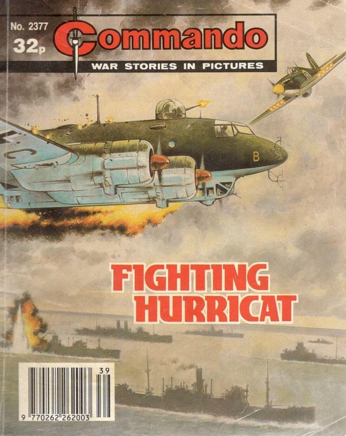 """Commando Issue 2377: """"Fighting Hurricat"""""""