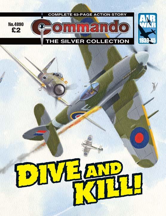 Commando No 4890 – Dive And Kill!