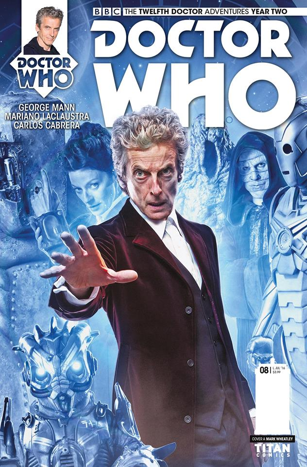 Twelfth Doctor Year Two #8 - Cover B - Photo