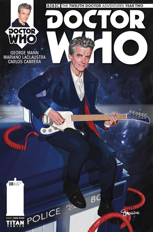 Twelfth Doctor Year Two #8 - Cover C by Simon Myers