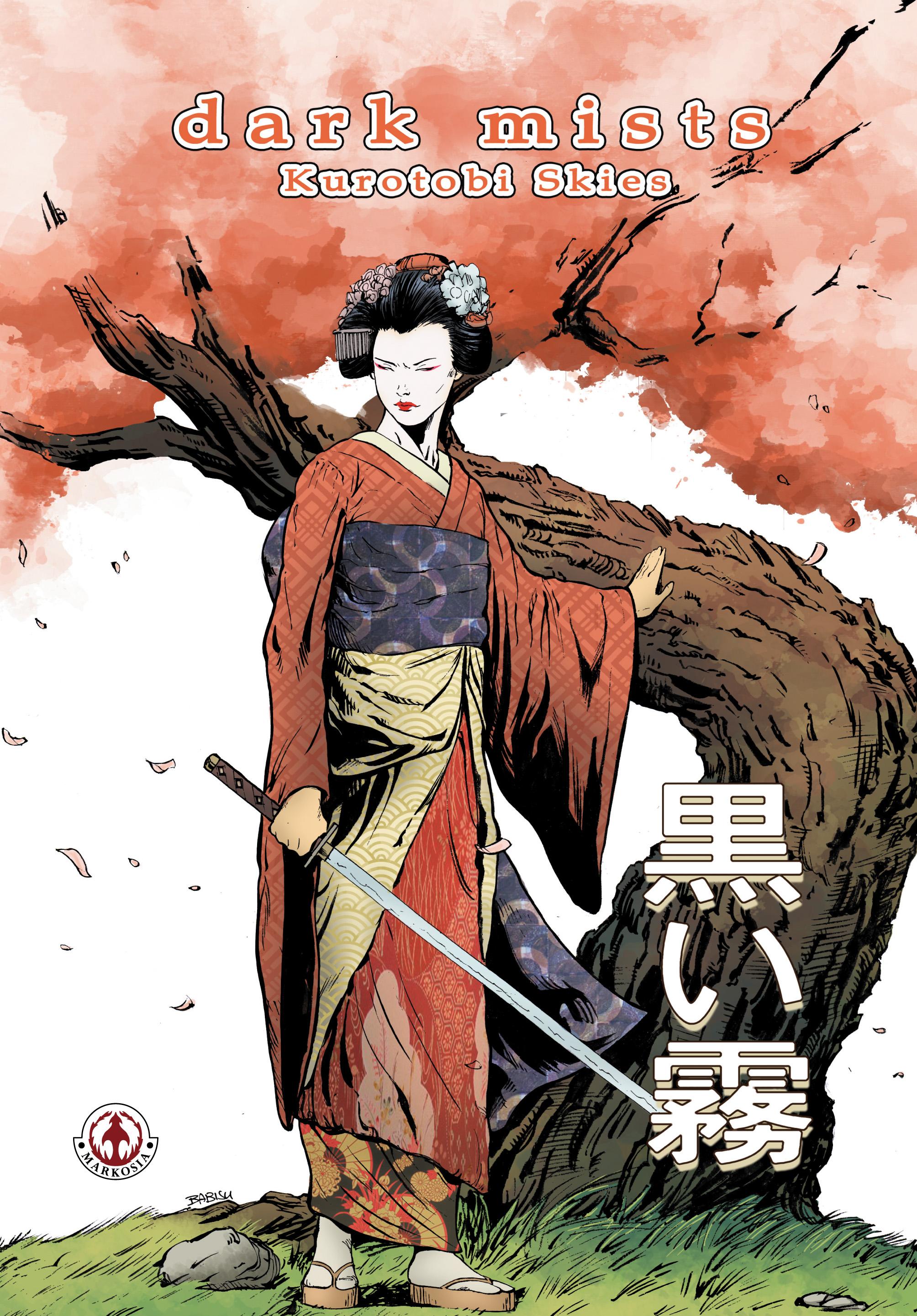 Dark Mists 2 Kurotobi Skies - Cover