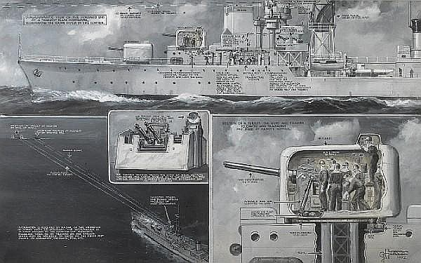 GHD ILN 27 Sep 1952 Daring Class Destroyer