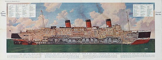 GHD ILN Foldout RMS Queen Mary