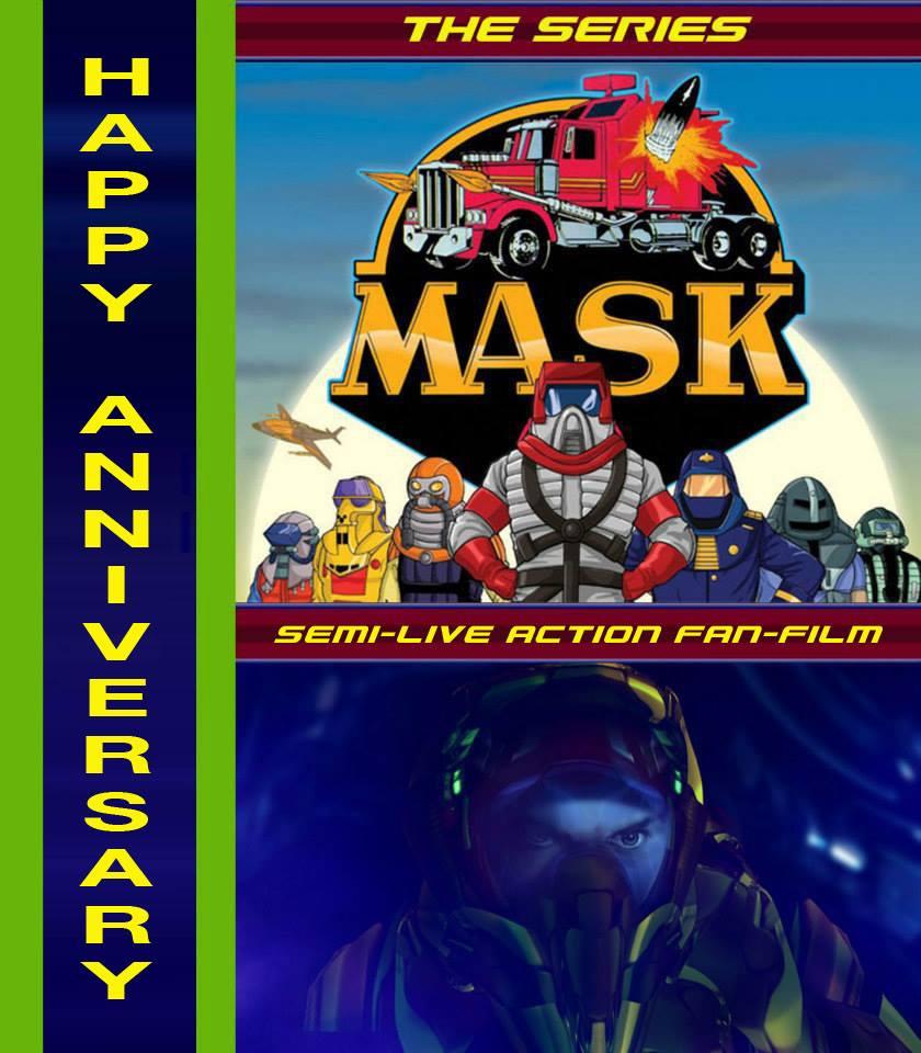 M.A.S.K. Fan Film Anniversary Promotion
