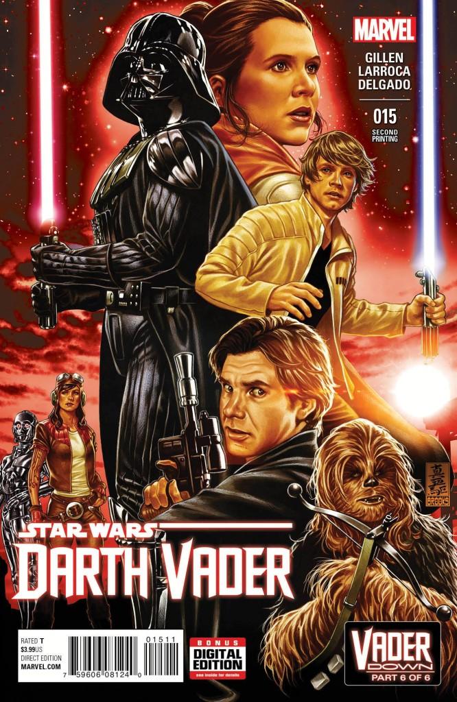 Darth Vader #15 Brooks 2nd Printing Variant
