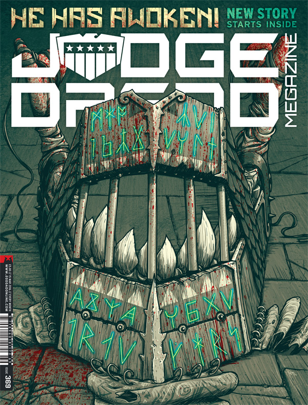 Judge Dredd Megazine 369