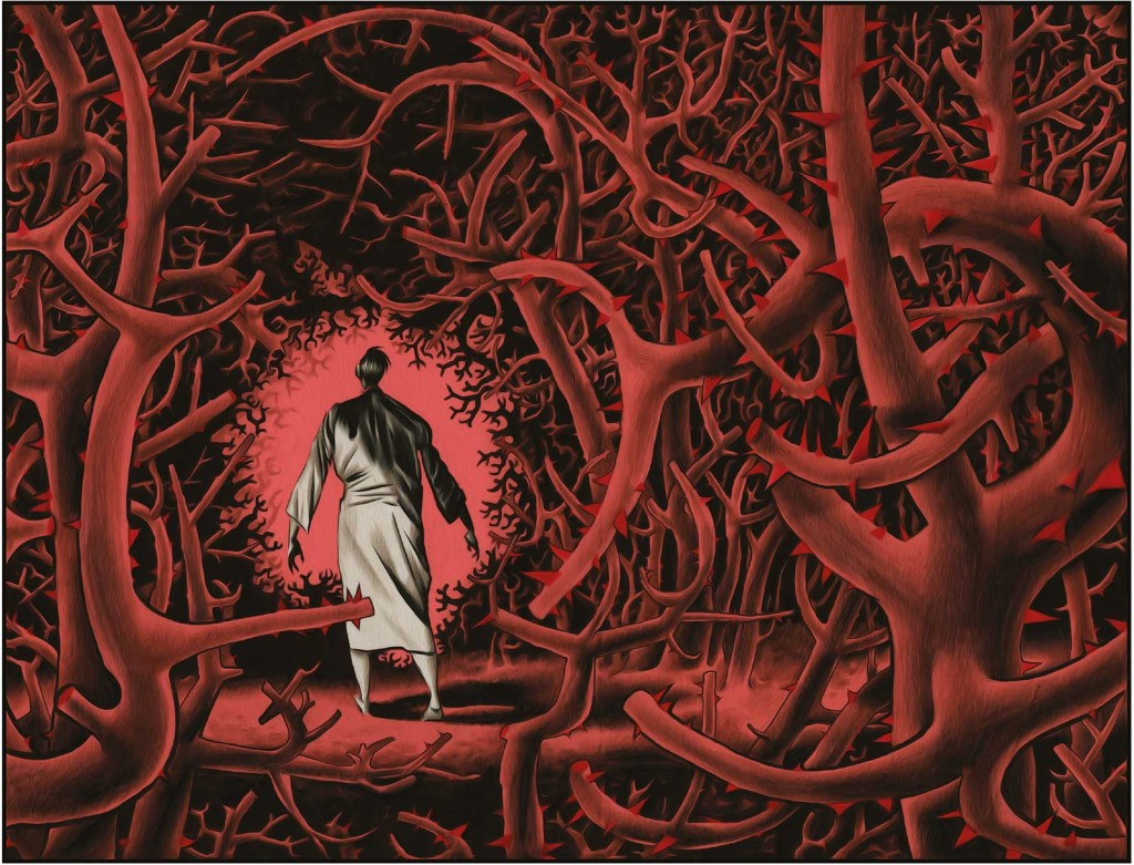 Black Dog – The Dreams of Paul Nash - Sample Art 5