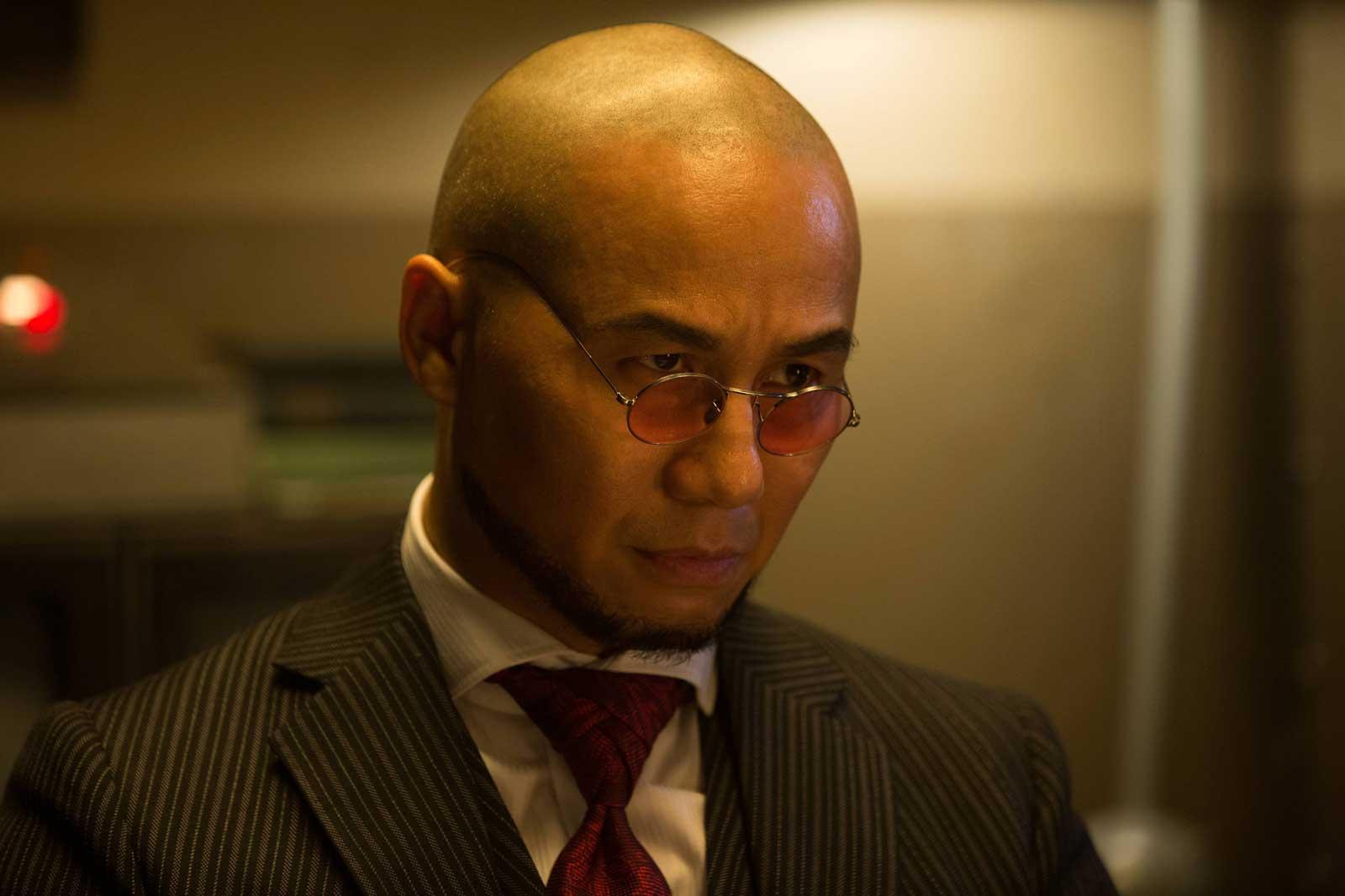"B.D. Wong as Hugo Strange in the Gotham episode ""Mr. Freeze"""