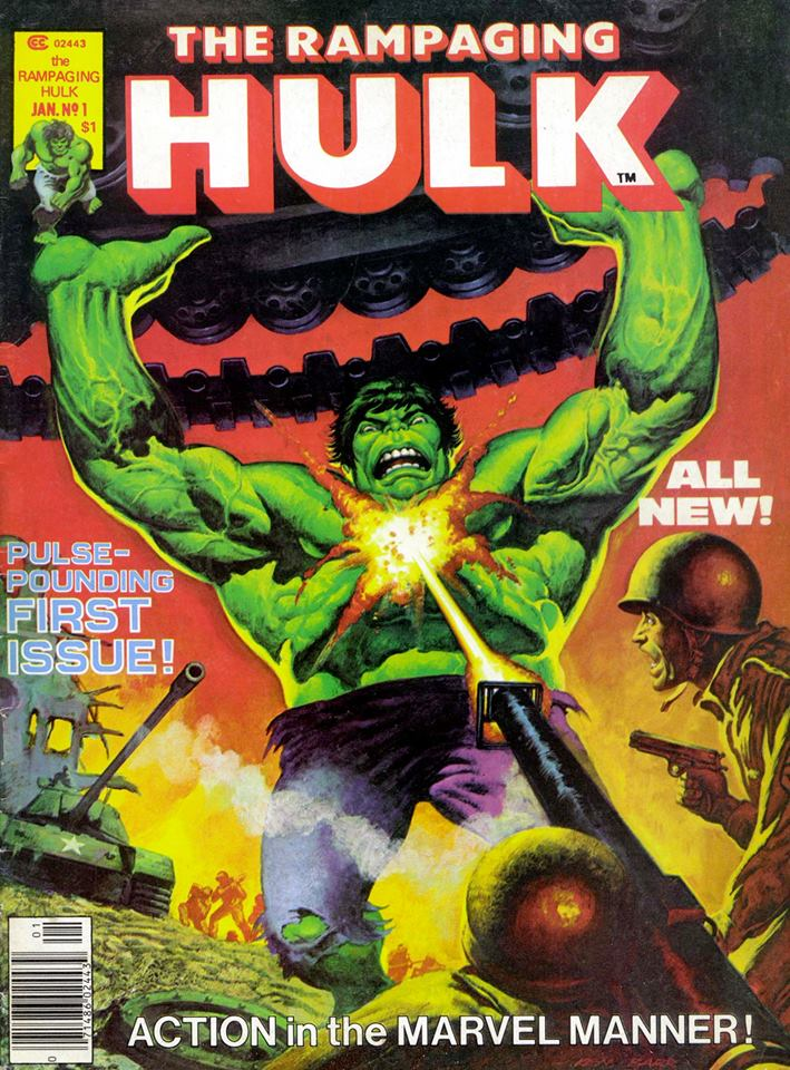 The Rampaging Hulk #1 - Cover by Ken Barr
