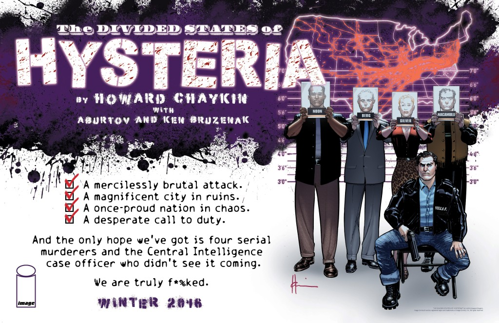 THE DIVIDED STATES OF HYSTERIA by Howard Chaykin