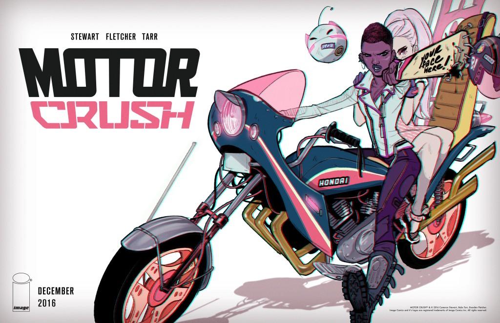 MOTOR CRUSH by Brenden Fletcher, Cameron Stewart & Babs Tarr