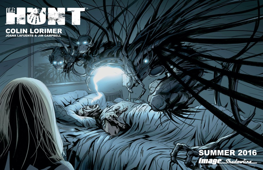 THE HUNT by Colin Lorimer, Jim Campbell, and Joana Lafuente (Shadowline Comics)