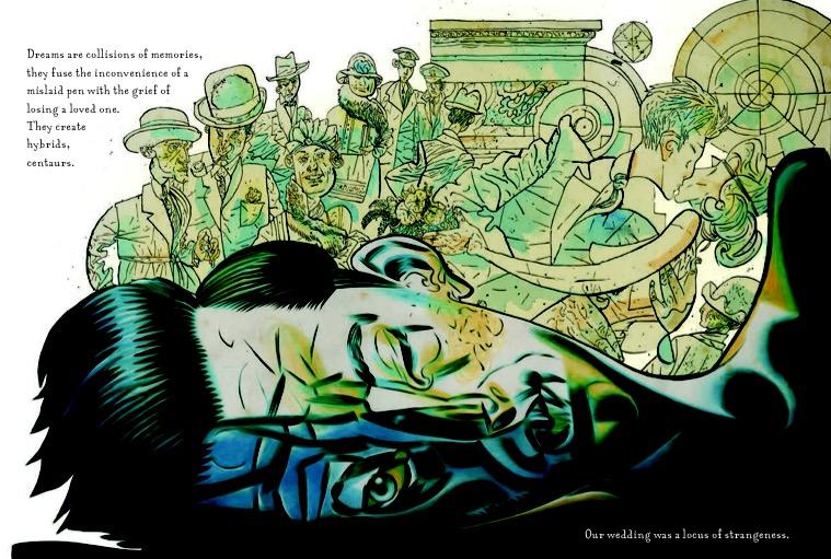 Black Dog: The Dreams of Paul Nash - Sample Art